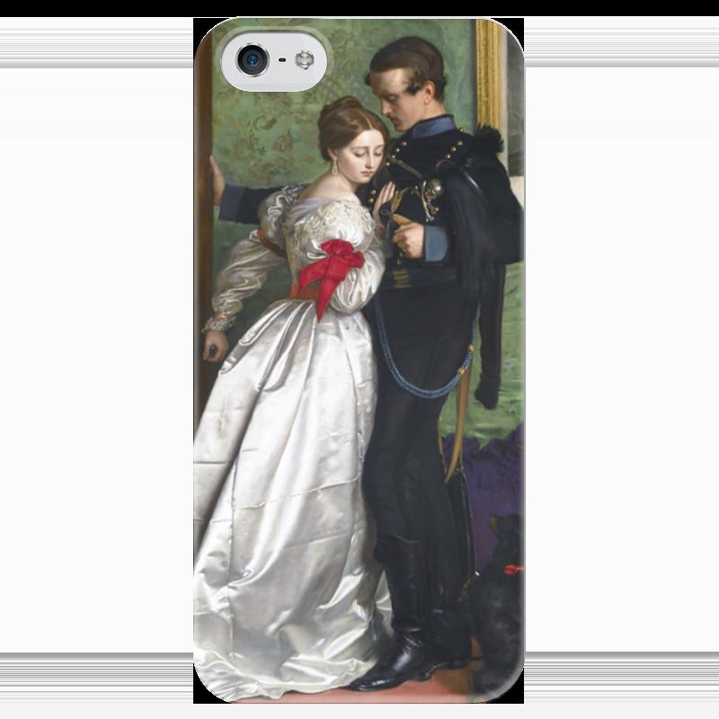 Чехол для iPhone 5 глянцевый, с полной запечаткой Printio Чёрный брауншвейгский гусар (джон милле) стефания лукас джон эверетт милле