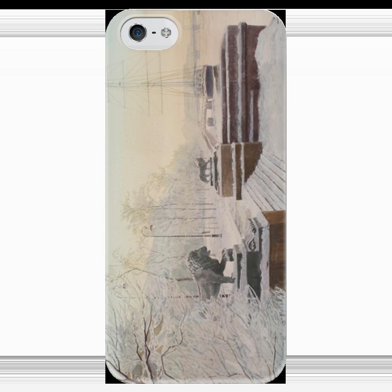 Чехол для iPhone 5 глянцевый, с полной запечаткой Printio Питер 2 чехол для iphone 5 глянцевый с полной запечаткой printio ember spirit dota 2