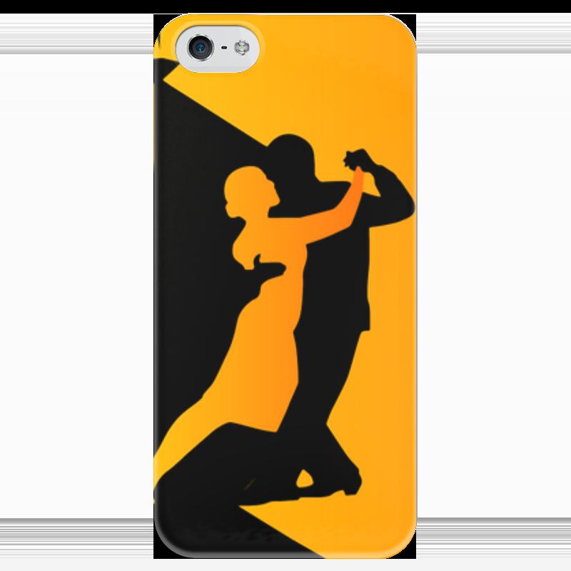 Чехол для iPhone 5 глянцевый, с полной запечаткой Printio Танго в ночи мячи адидас танго в киеве