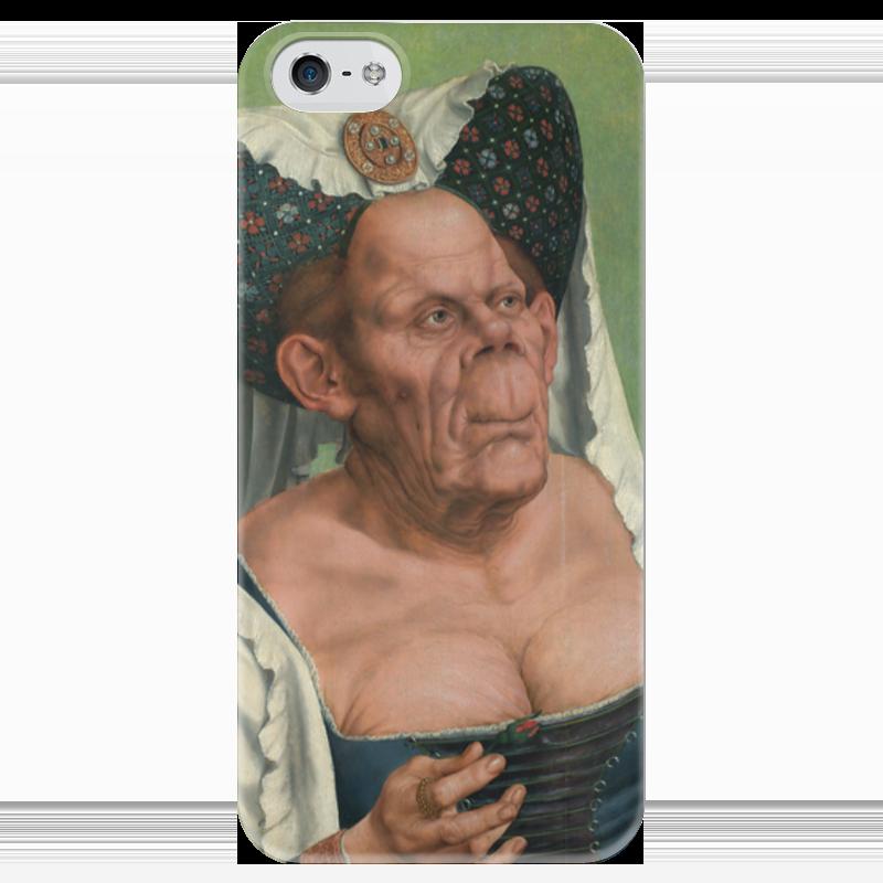 Чехол для iPhone 5 глянцевый, с полной запечаткой Printio Уродливая герцогиня маккейб а пугливая герцогиня роман