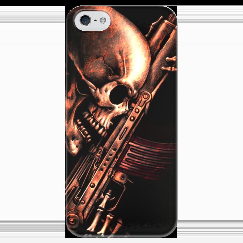Чехол для iPhone 5 глянцевый, с полной запечаткой Printio До конца!!! чехол для iphone 5 глянцевый с полной запечаткой printio не трогай мой телефон