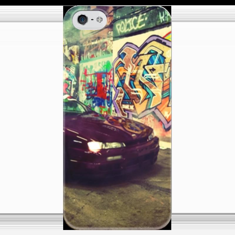 Чехол для iPhone 5 глянцевый, с полной запечаткой Printio Дрифтинг чехол для iphone 5 глянцевый с полной запечаткой printio хайзенберг
