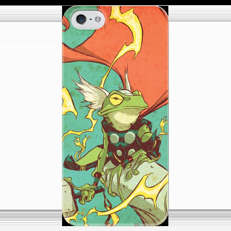 Чехол для iPhone 5 глянцевый, с полной запечаткой Printio Comics art series: тор чехол для iphone 7 глянцевый printio horror art