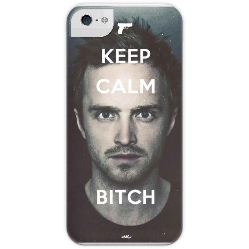 Чехол для iPhone 5 глянцевый, с полной запечаткой Printio Keep calm breaking bad футболка wearcraft premium printio keep calm