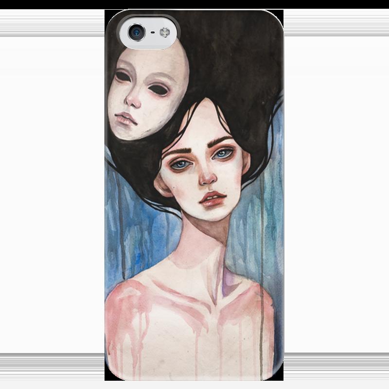 Чехол для iPhone 5 глянцевый, с полной запечаткой Printio Маска чехол для iphone 5 глянцевый с полной запечаткой printio ember spirit dota 2
