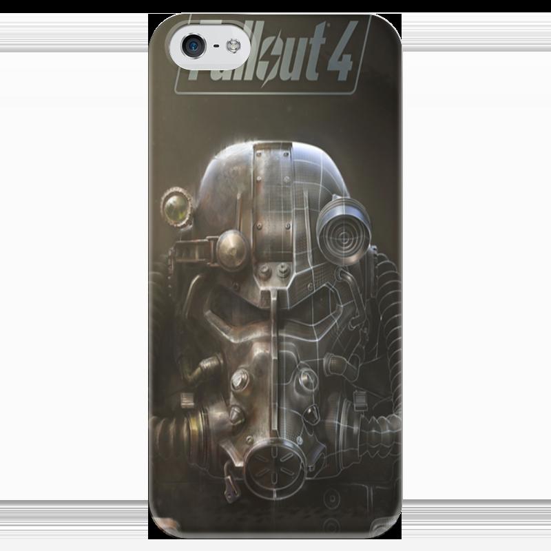 Чехол для iPhone 5 глянцевый, с полной запечаткой Printio Fallout 4 чехол для iphone 4 глянцевый с полной запечаткой printio кролик