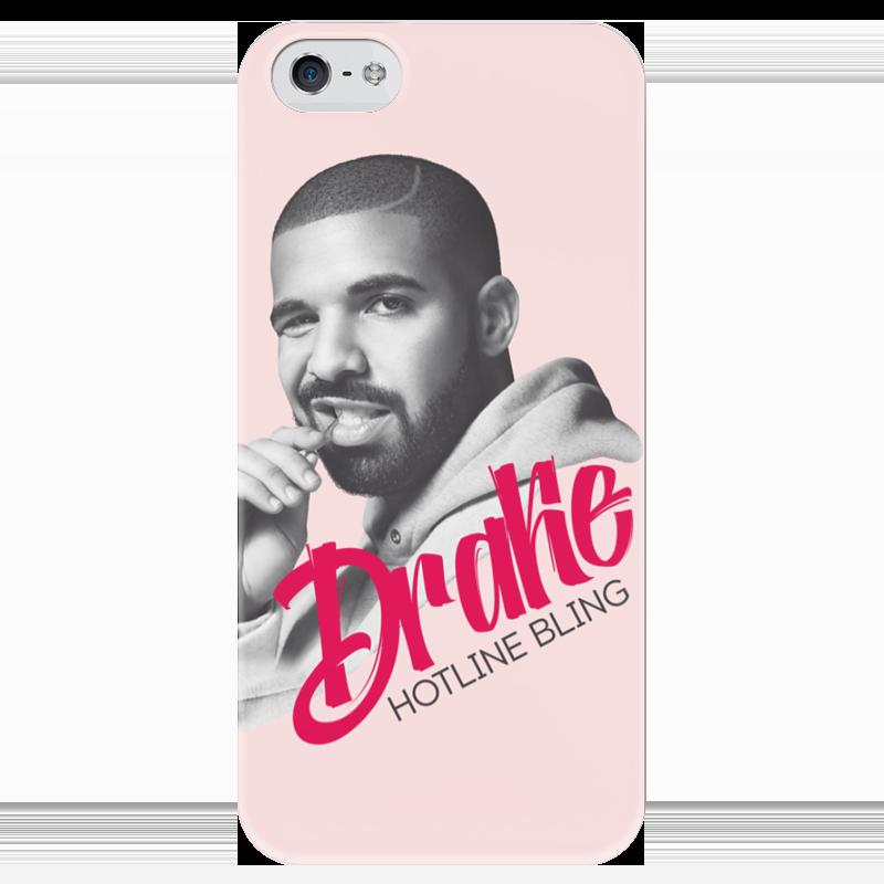 Чехол для iPhone 5 глянцевый, с полной запечаткой Printio Drake чехол для iphone 5 глянцевый с полной запечаткой printio хайзенберг