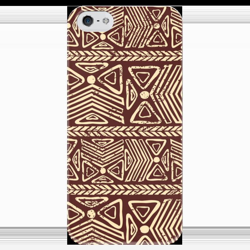 купить Чехол для iPhone 5 глянцевый, с полной запечаткой Printio Абстрактный по цене 980 рублей