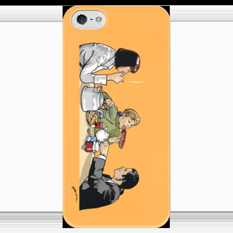 Чехол для iPhone 5 глянцевый, с полной запечаткой Printio Пульпчата чехол для iphone 4 глянцевый с полной запечаткой printio бэтмен