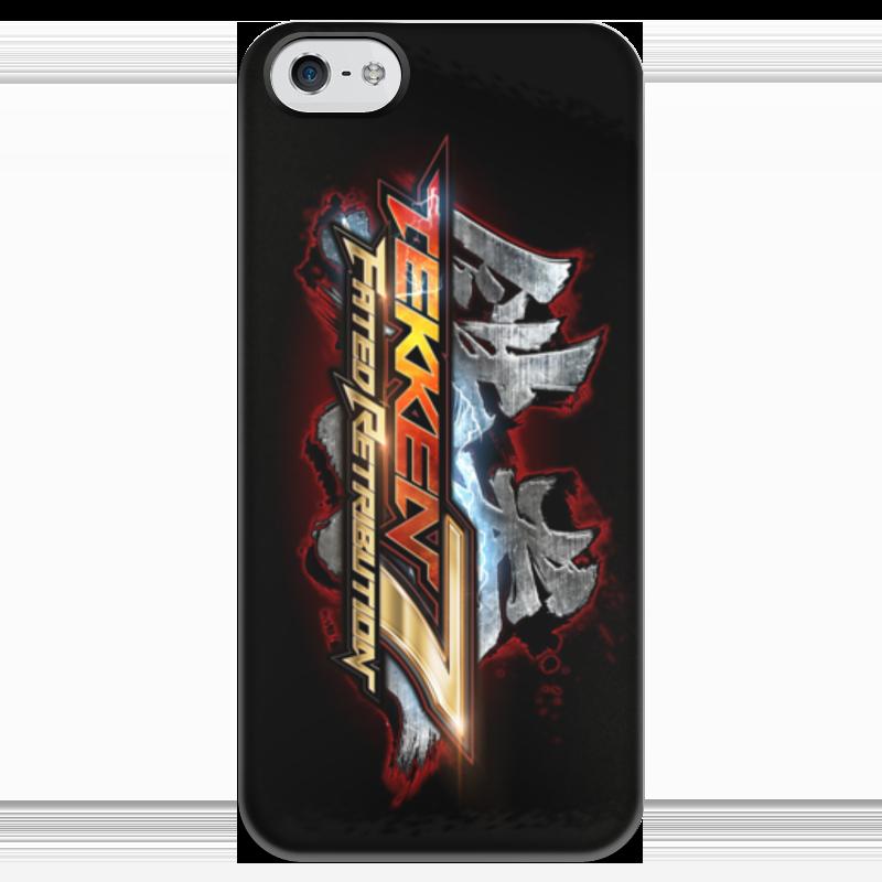 где купить Чехол для iPhone 5 глянцевый, с полной запечаткой Printio Tekken 7 по лучшей цене