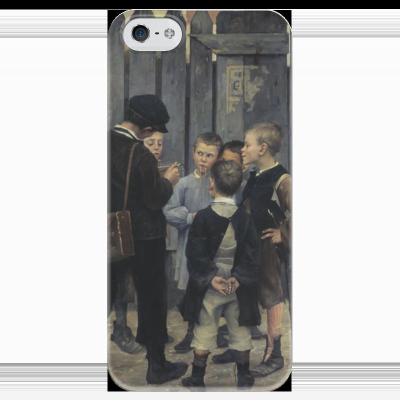 Чехол для iPhone 5 глянцевый, с полной запечаткой Printio Совещание чехол для iphone 7 глянцевый printio совещание
