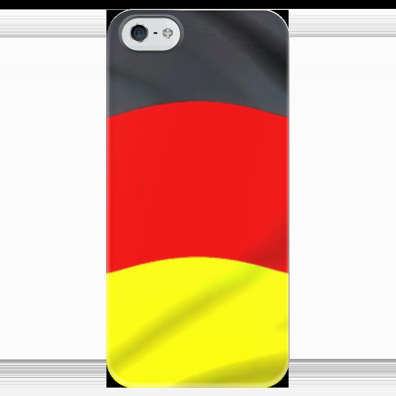 Чехол для iPhone 5 глянцевый, с полной запечаткой Printio Германия чехол для iphone 5 глянцевый с полной запечаткой printio икс 23 лора кинни