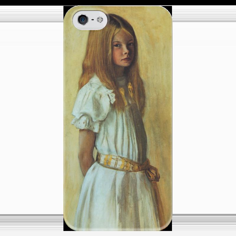 Чехол для iPhone 5 глянцевый, с полной запечаткой Printio Гертруда гадд (хуго симберг) я сбил целый авиаполк мемуары финского аса