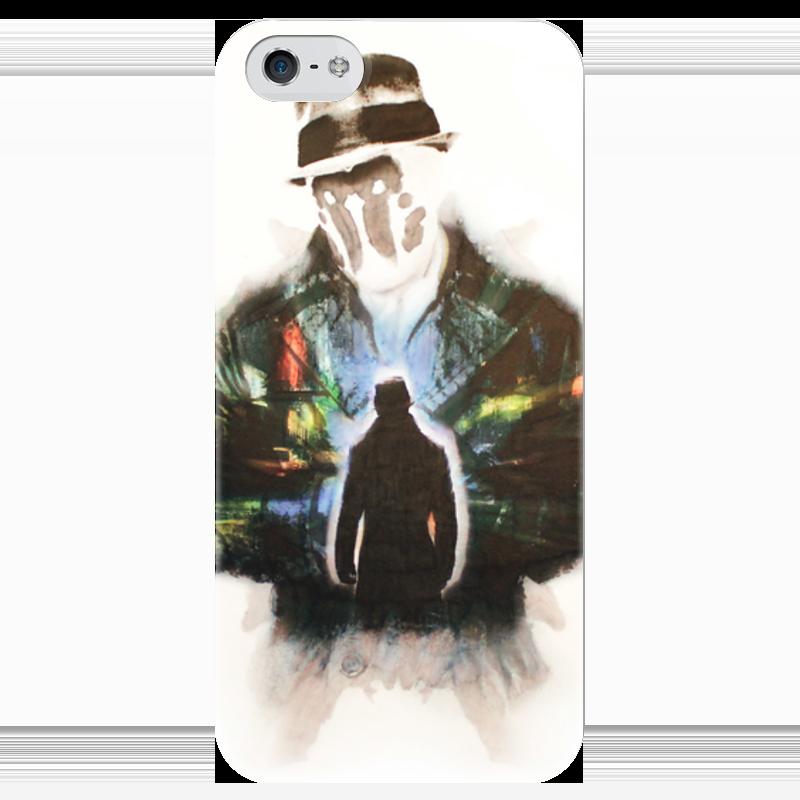 Чехол для iPhone 5 глянцевый, с полной запечаткой Printio Rorschach чехол для iphone 5 глянцевый с полной запечаткой printio хлоя морец