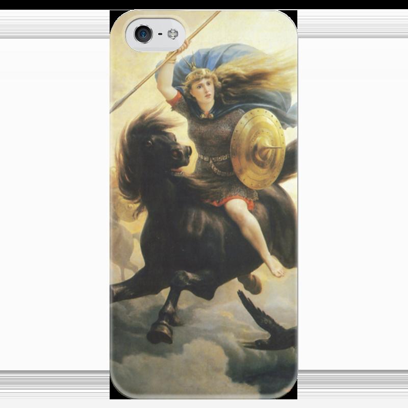 Чехол для iPhone 5 глянцевый, с полной запечаткой Printio Валькирия (петер николай арбо) петер краус peter kraus die singles 1956 1958