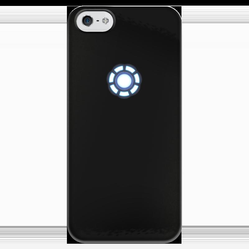 Чехол для iPhone 5 глянцевый, с полной запечаткой Printio Железный человек чехол для iphone 5 глянцевый с полной запечаткой printio супергерои black canary