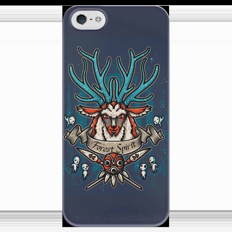 Чехол для iPhone 5 глянцевый, с полной запечаткой Printio Forest spirit. лесной дух чехол для iphone 5 глянцевый с полной запечаткой printio earth spirit dota 2