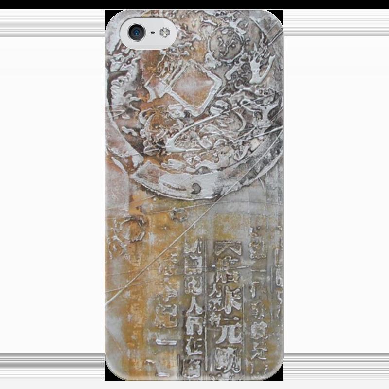 Чехол для iPhone 5 глянцевый, с полной запечаткой Printio Знаки чехол для iphone 5 глянцевый с полной запечаткой printio ember spirit dota 2