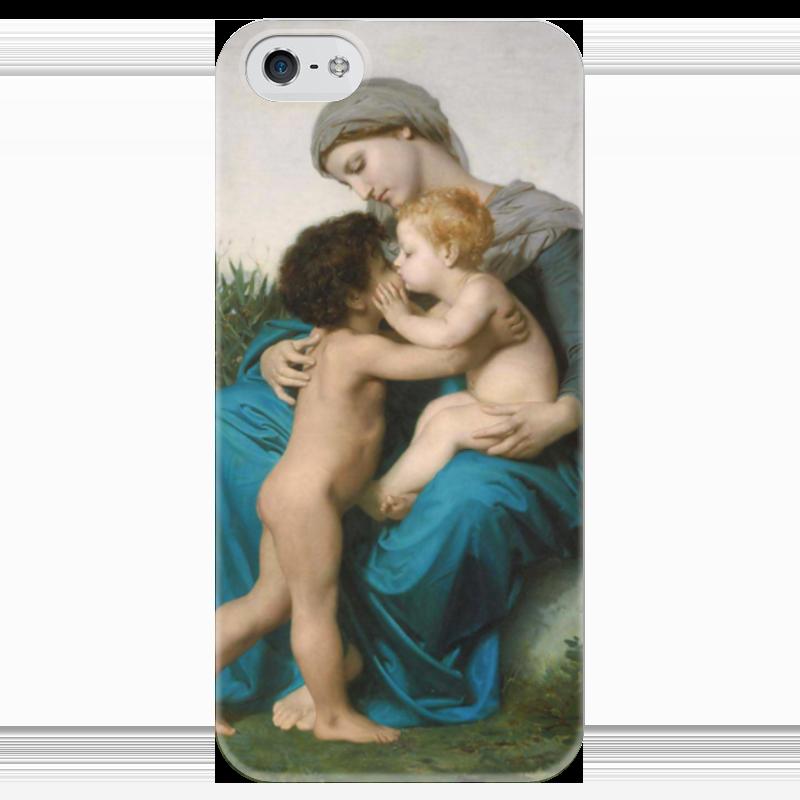 Чехол для iPhone 5 глянцевый, с полной запечаткой Printio Братская любовь (fraternal love) чехол для iphone 5 глянцевый с полной запечаткой printio любовь