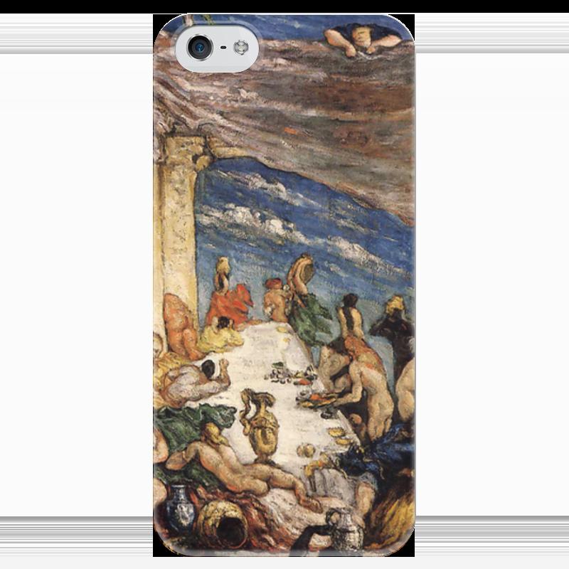 Чехол для iPhone 5 глянцевый, с полной запечаткой Printio Оргия чехол для iphone 6 глянцевый printio оргия