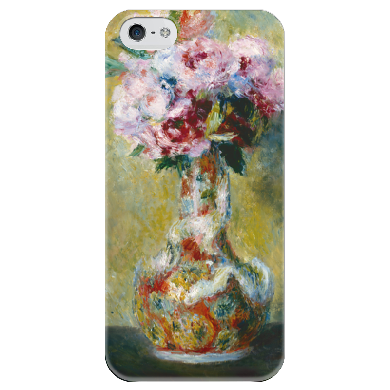 Чехол для iPhone 5 глянцевый, с полной запечаткой Printio Букет в вазе чехол для iphone 6 глянцевый printio бал в мулен де ла галетт ренуар