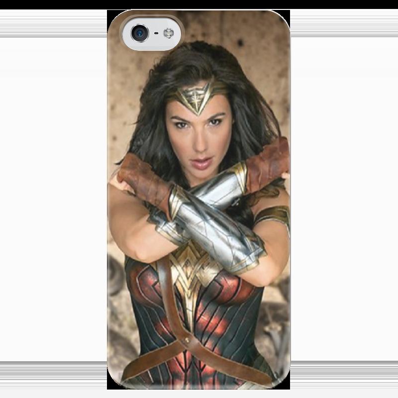 Чехол для iPhone 5 глянцевый, с полной запечаткой Printio Чудо-женщина / wonder woman чехол для iphone 6 глянцевый printio чудо женщина wonder woman