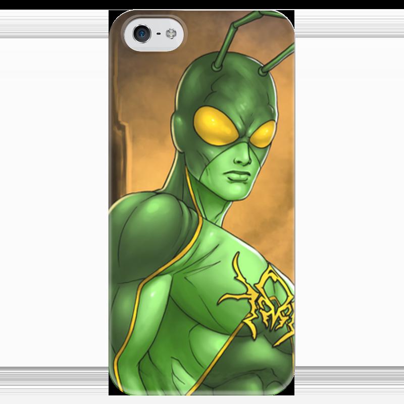 Чехол для iPhone 5 глянцевый, с полной запечаткой Printio Супергерои: человек-муравей чехол для iphone 5 глянцевый с полной запечаткой printio супергерои black canary