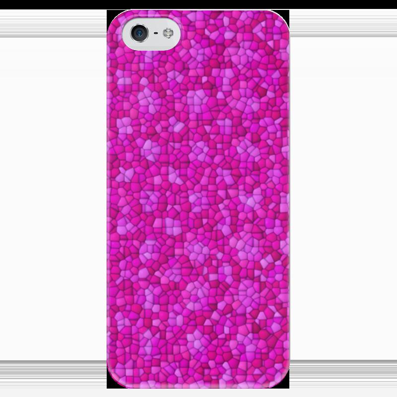 Чехол для iPhone 5 глянцевый, с полной запечаткой Printio Purple чехол для iphone 5 глянцевый с полной запечаткой printio ember spirit dota 2