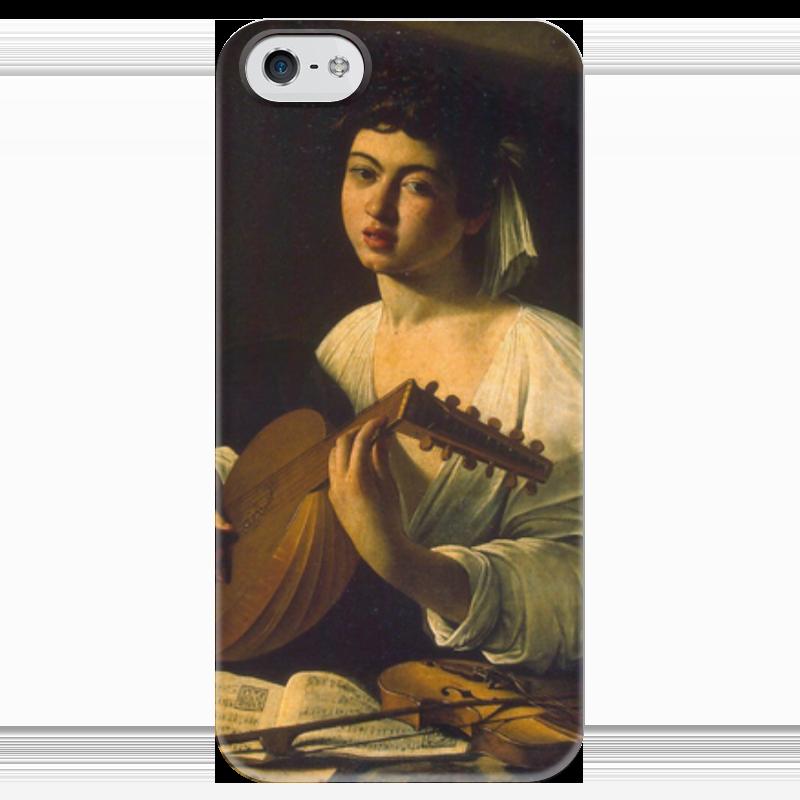 Чехол для iPhone 5 глянцевый, с полной запечаткой Printio Лютнист (караваджо) караваджо