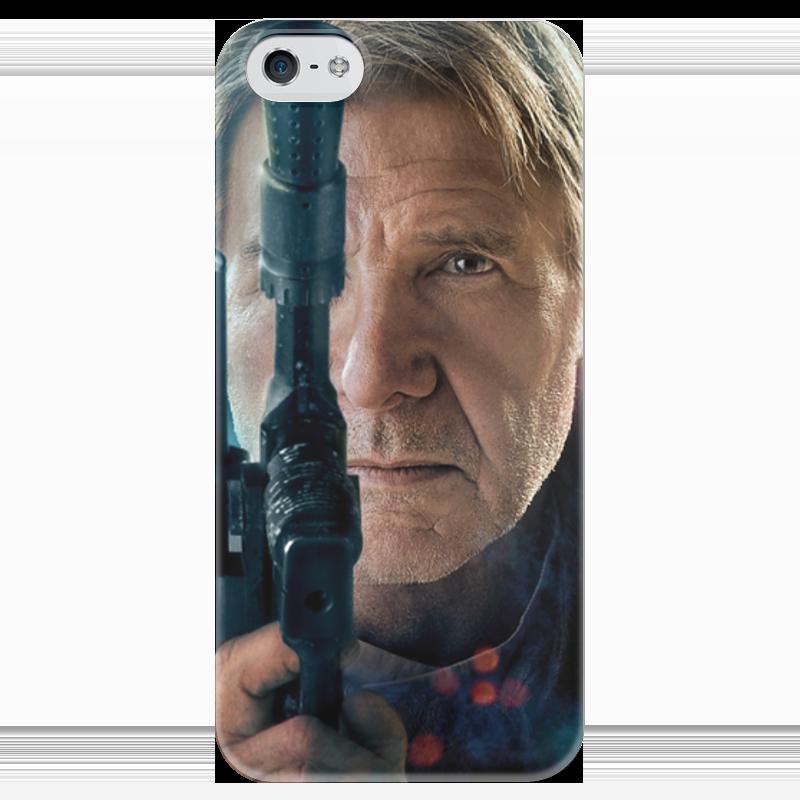 Чехол для iPhone 5 глянцевый, с полной запечаткой Printio Звездные войны - хан соло чехол для iphone 5 глянцевый с полной запечаткой printio star wars звездные войны