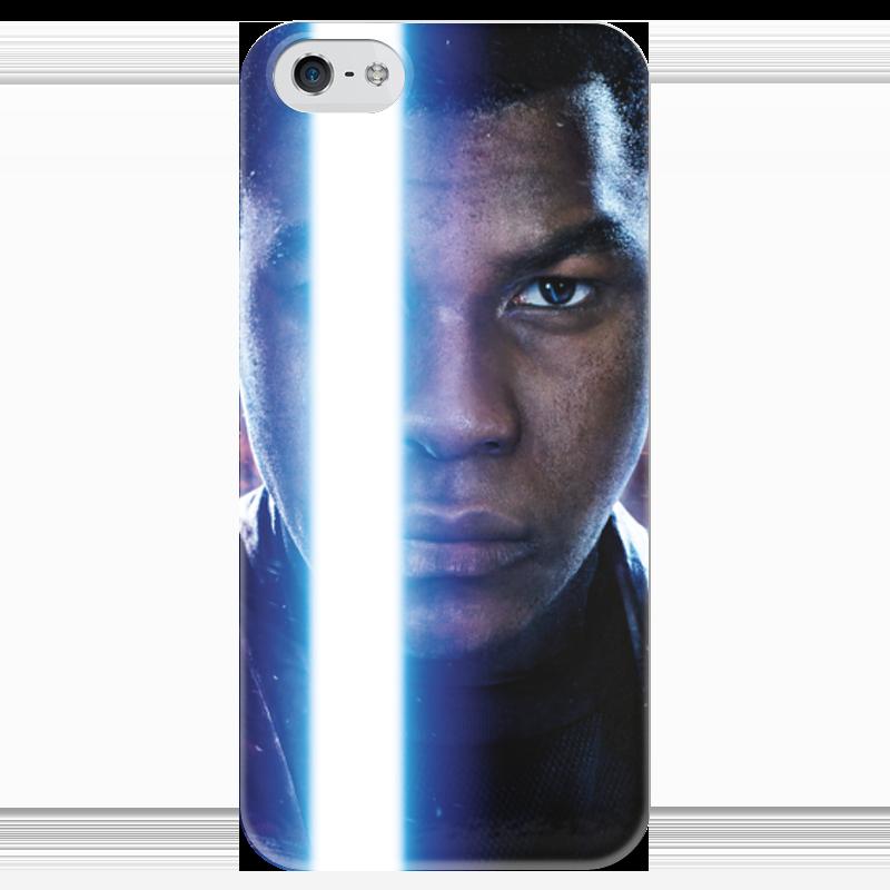 Чехол для iPhone 5 глянцевый, с полной запечаткой Printio Звездные войны - финн чехол для iphone 5 глянцевый с полной запечаткой printio star wars звездные войны