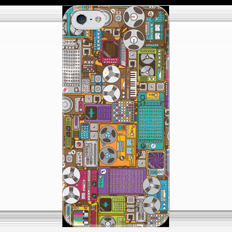 Чехол для iPhone 5 глянцевый, с полной запечаткой Printio Аппаратура перепускной клапан топливной аппаратура форд скорпио 2 5 дизель купить