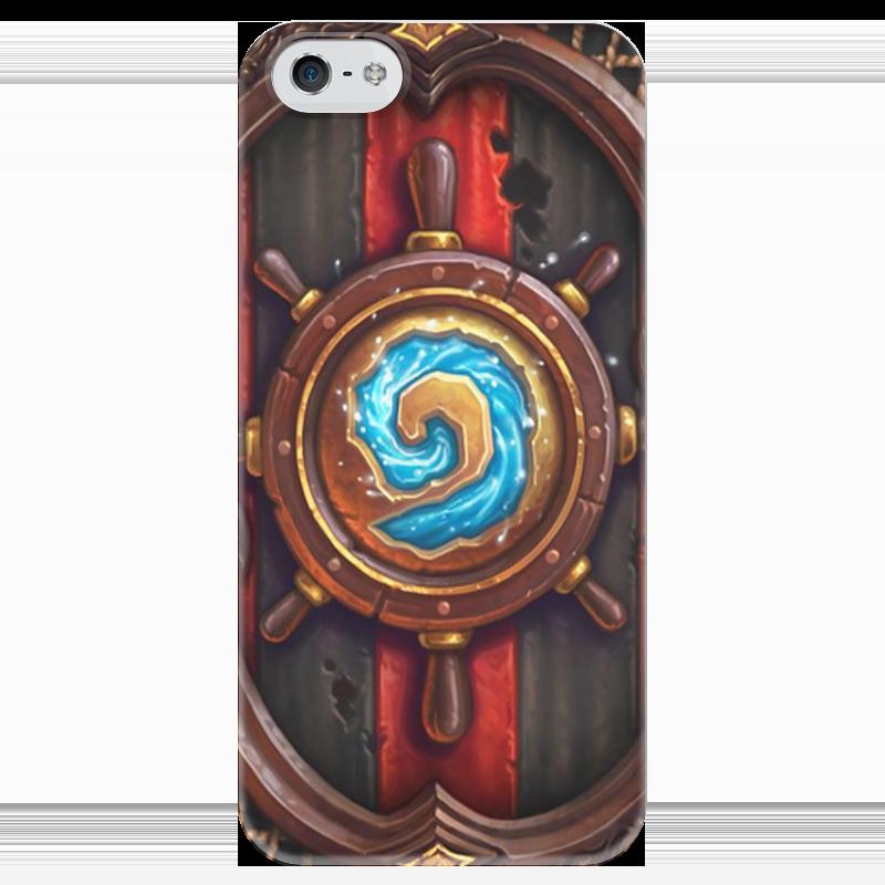 Чехол для iPhone 5 глянцевый, с полной запечаткой Printio Hearthstone: heroes of warcraft чехол для iphone 6 глянцевый printio world of warcraft