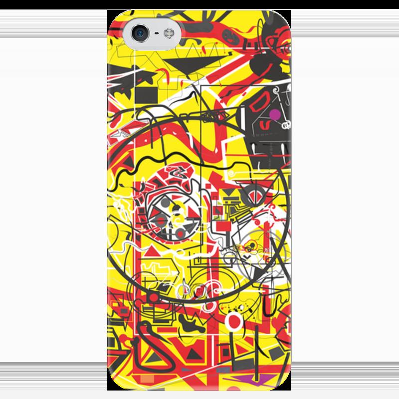 Чехол для iPhone 5 глянцевый, с полной запечаткой Printio Паутинка чехол для iphone 5 глянцевый с полной запечаткой printio ember spirit dota 2