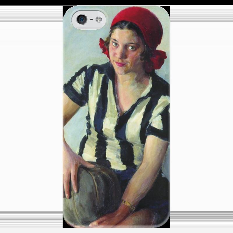 Чехол для iPhone 5 глянцевый, с полной запечаткой Printio Физкультурница (иван куликов) иван бунин жизнь арсеньева