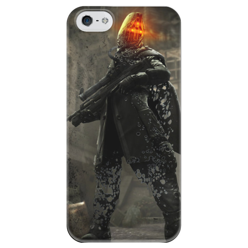 все цены на Чехол для iPhone 5 глянцевый, с полной запечаткой Printio Killzone