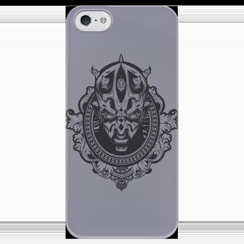 Чехол для iPhone 5 глянцевый, с полной запечаткой Printio Тёмная сторона силы макс фрай тёмная сторона