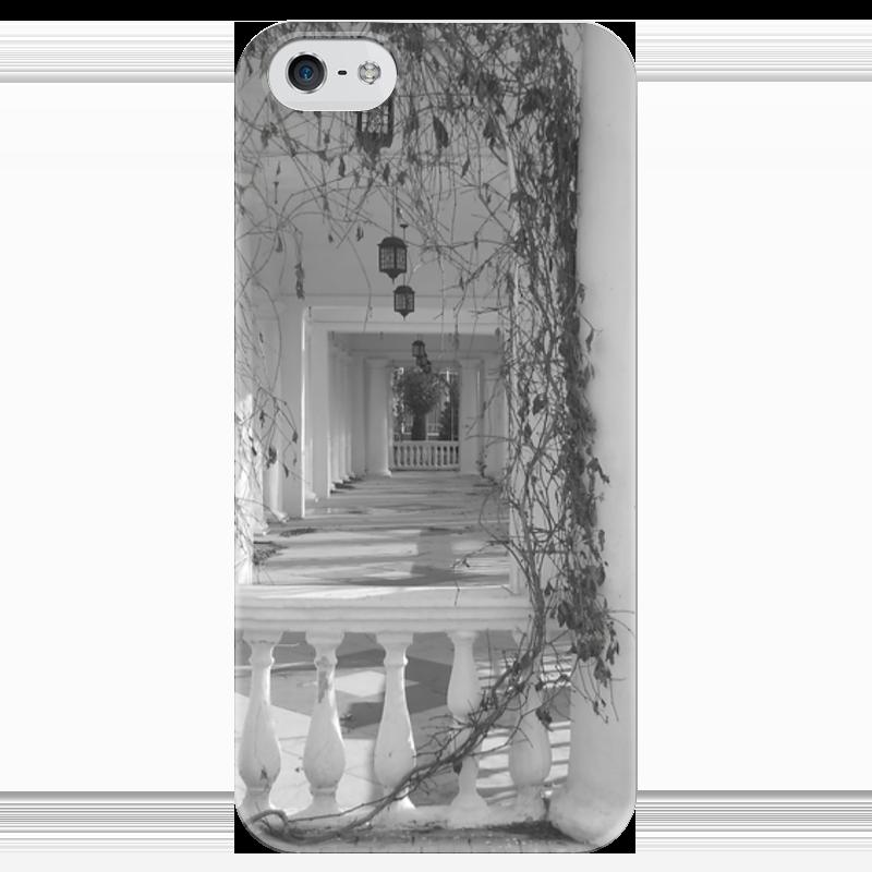 Чехол для iPhone 5 глянцевый, с полной запечаткой Printio Осень чехол для iphone 5 с подставкой с полной запечаткой printio осень