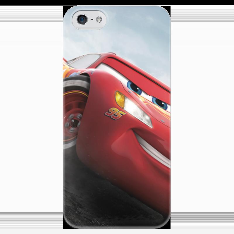 Чехол для iPhone 5 глянцевый, с полной запечаткой Printio Тачки чехол для iphone 4 глянцевый с полной запечаткой printio бэтмен