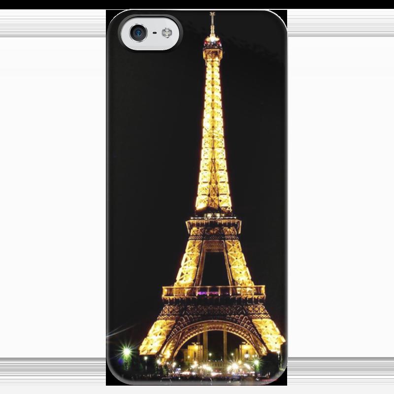 Чехол для iPhone 5 глянцевый, с полной запечаткой Printio Париж чехол для iphone 5 глянцевый с полной запечаткой printio хлоя морец