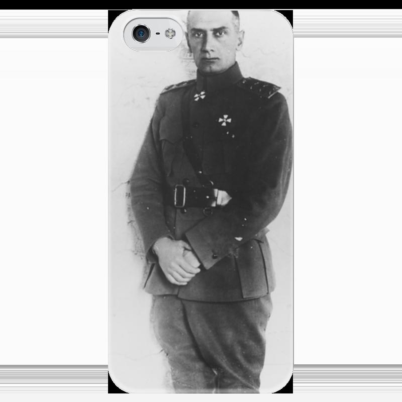 Чехол для iPhone 5 глянцевый, с полной запечаткой Printio Колчак чехол для iphone 5 глянцевый с полной запечаткой printio ember spirit dota 2