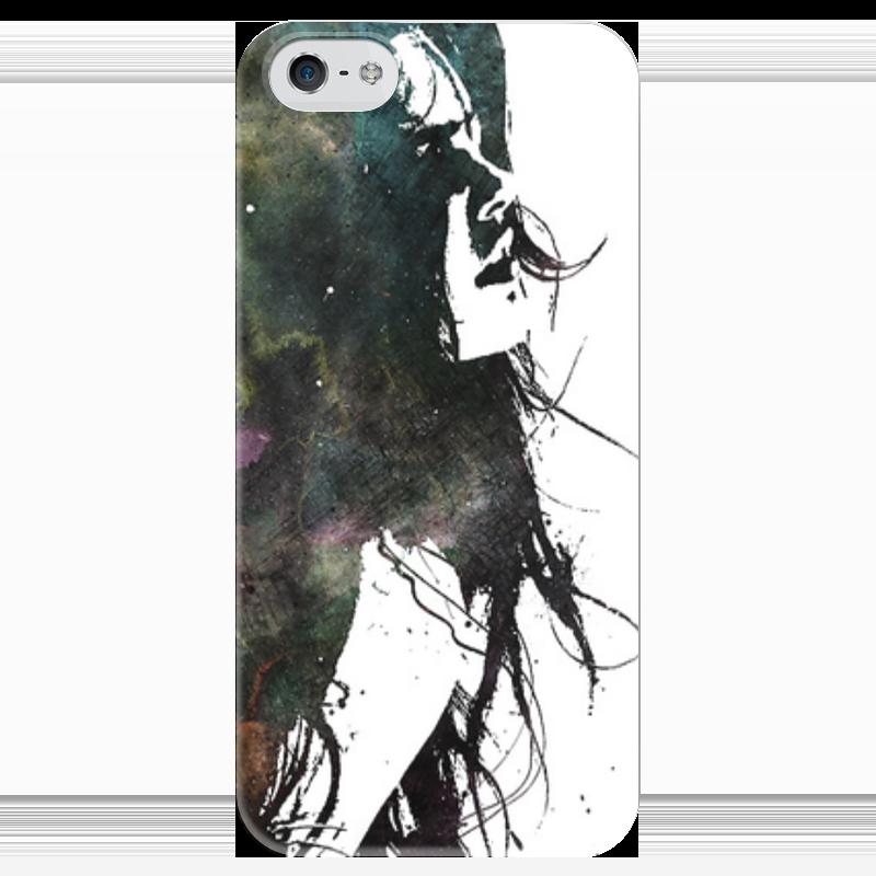 Чехол для iPhone 5 глянцевый, с полной запечаткой Printio Артик чехол для iphone 5 глянцевый с полной запечаткой printio эфиопка