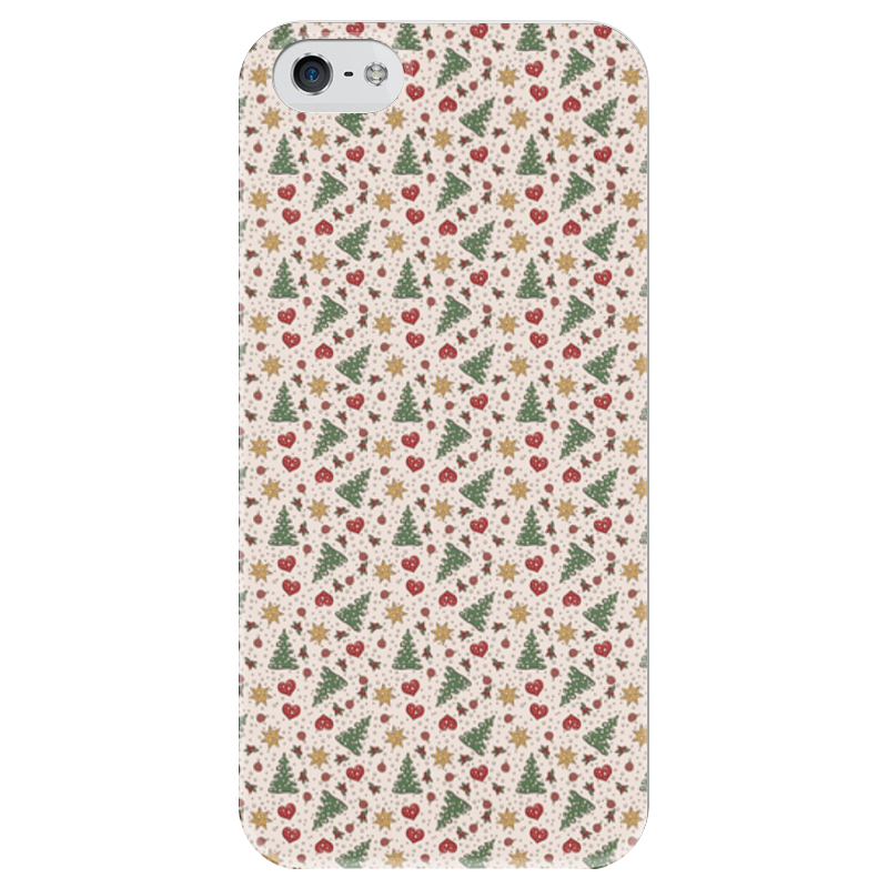Чехол для iPhone 5 глянцевый, с полной запечаткой Printio Праздник чехол для iphone 5 глянцевый с полной запечаткой printio beardman case