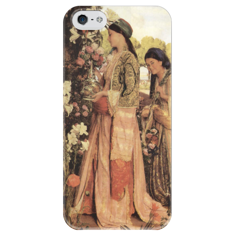 Чехол для iPhone 5 глянцевый, с полной запечаткой Printio Душистые лилии (джон фредерик льюис) фредерик клеман метаморфозы