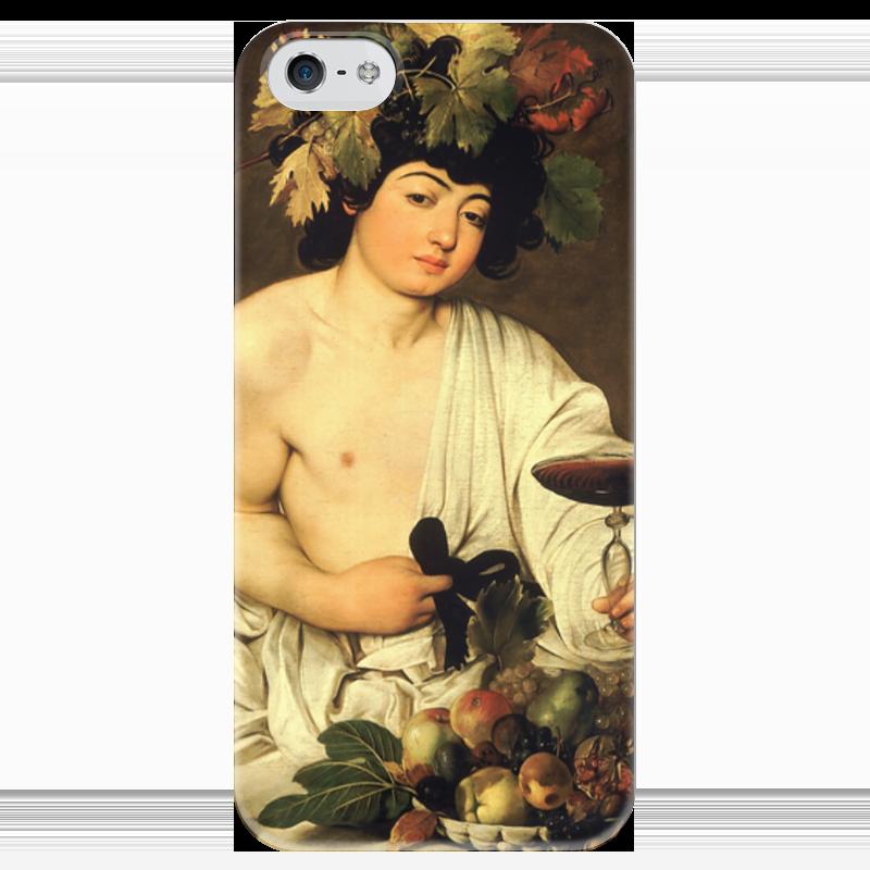 Чехол для iPhone 5 глянцевый, с полной запечаткой Printio Вакх (караваджо) караваджо