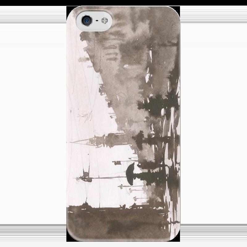 Чехол для iPhone 5 глянцевый, с полной запечаткой Printio Питер 3 питер 978 5 4461 0256 3