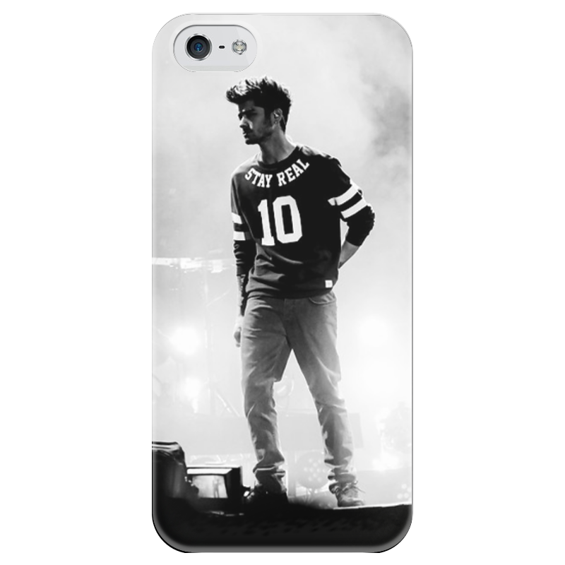 Чехол для iPhone 5 глянцевый, с полной запечаткой Printio Zayn malik чехол для iphone 5 глянцевый с полной запечаткой printio zayn malik