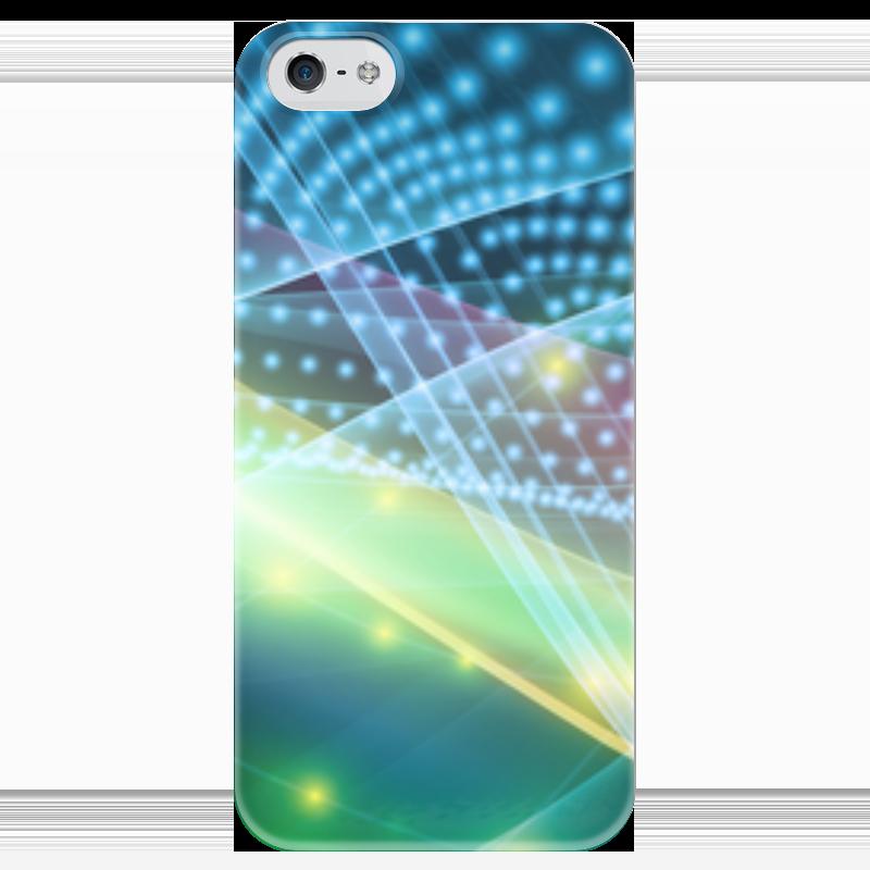 Чехол для iPhone 5 глянцевый, с полной запечаткой Printio Абстракция чехол для iphone 5 глянцевый с полной запечаткой printio ember spirit dota 2