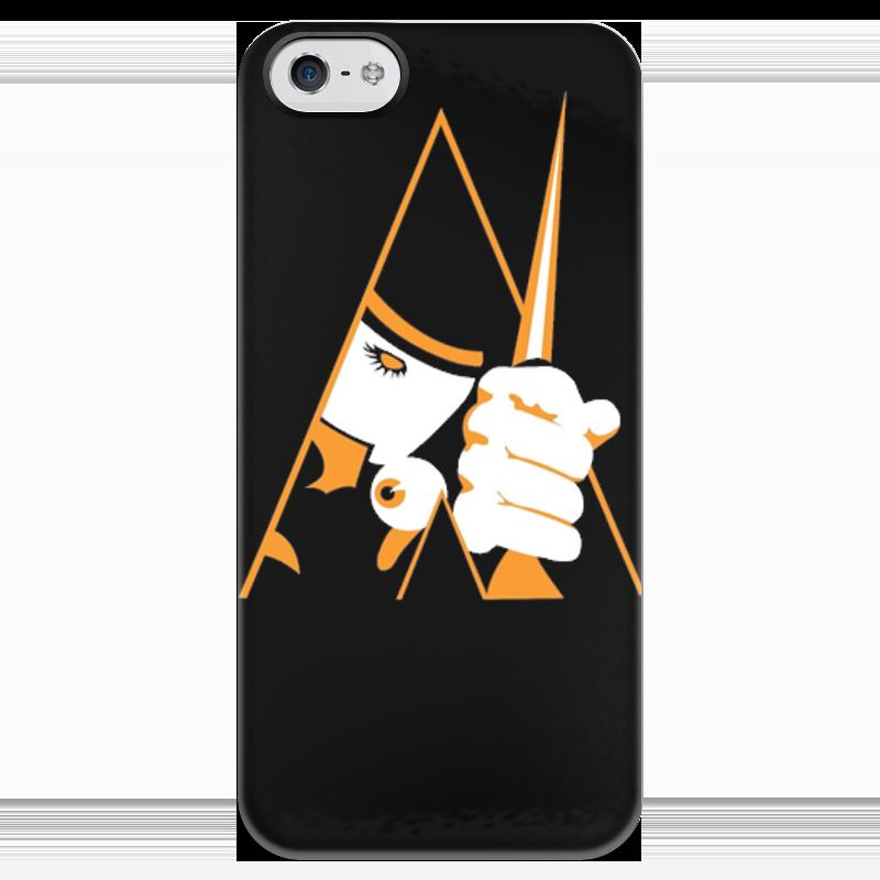Чехол для iPhone 5 глянцевый, с полной запечаткой Printio Заводной апельсин чехол для iphone 6 глянцевый printio clockwork orange заводной апельсин
