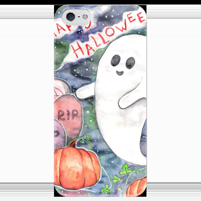 Чехол для iPhone 5 глянцевый, с полной запечаткой Printio Happy halloween чехол для iphone 5 глянцевый с полной запечаткой printio how to be happy